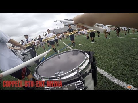 Coppell High School Band Snare Camera