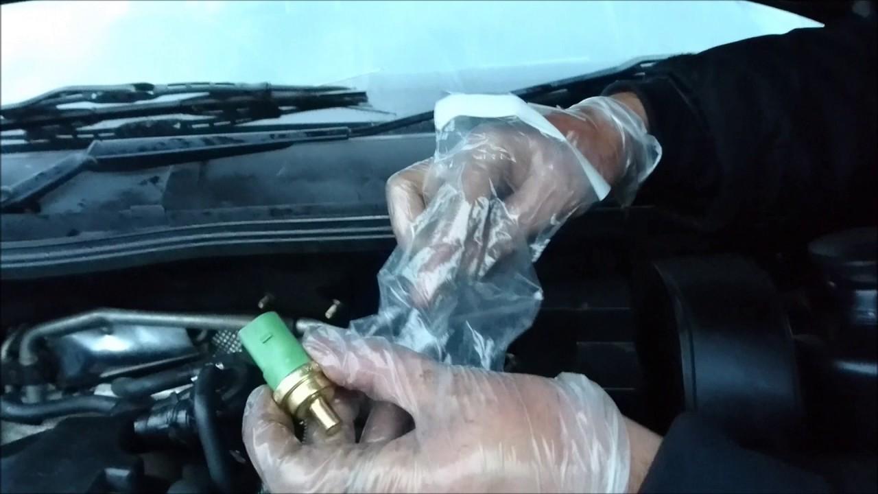 Engine Coolant Temperature Sensor Change Vw Audi Seat