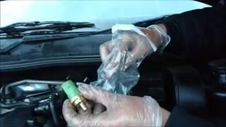 Engine Coolant Temperature Sensor Change VW / Audi / SEAT / Skoda