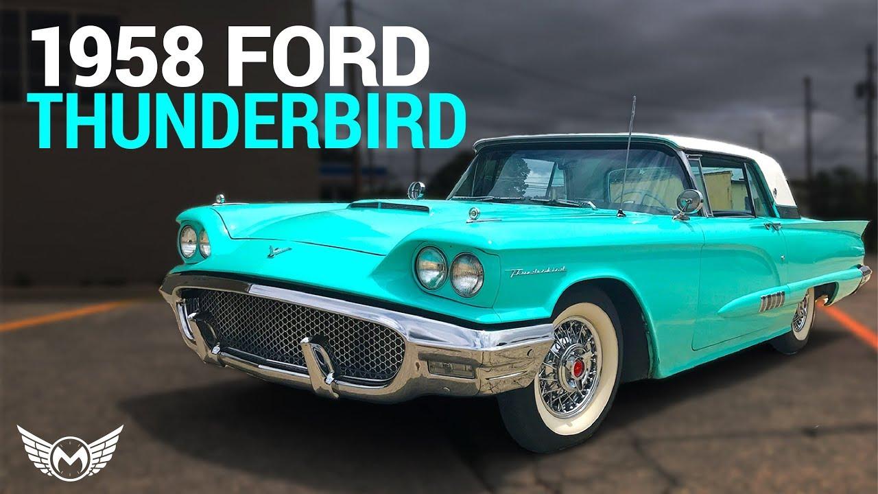 1958 Ford Thunderbird For Sale - YouTube