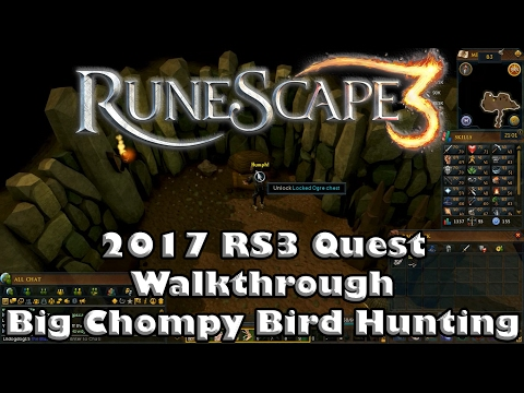 RS3 Quest Guide - Big Chompy Bird Hunting - 2017(Up To Date!)