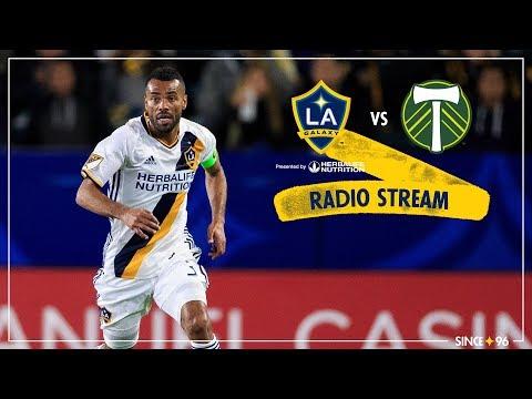 LA Galaxy vs. Portland Timbers | Radio Stream