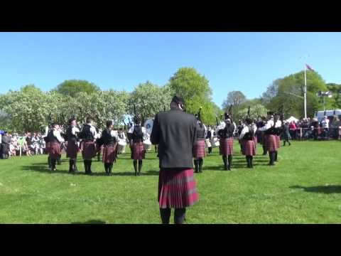Police Service Of Northern Ireland Pipe Band @ Ards & North Down Pipe Band Championships 2016