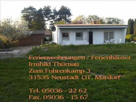 ferienhaus th rnau am steinhuder meer mardorf urlaub youtube. Black Bedroom Furniture Sets. Home Design Ideas