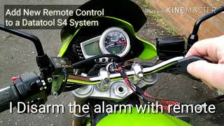 Add New Remote Control to a Datatool S4 System