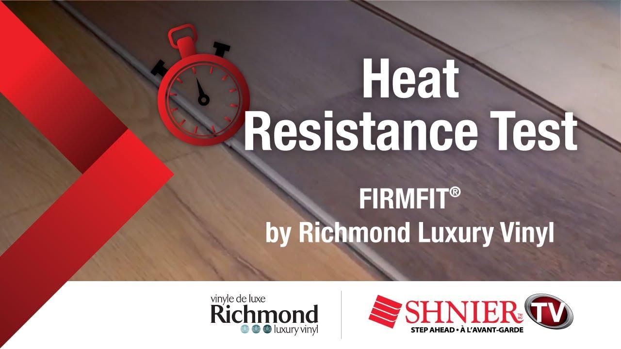 Firmfit By Richmond Reflections Heat Resistance Test