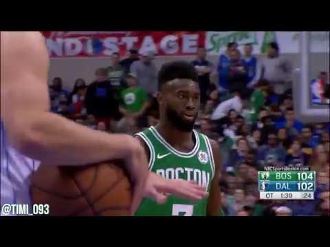 Jaylen Brown Highlights vs Dallas Mavericks (22 pts, 9 reb)