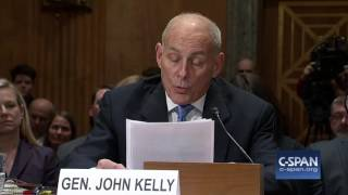 DHS Secretary Nominee Gen. John Kelly (Ret.) Opening Statement (C-SPAN)