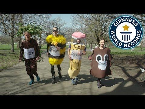 London Marathon 2018 – Guinness World Records