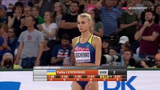 Юлія Левченко - срібна призерка Чемпіонату світу з легкої атлетики (стрибкиу висоту)!