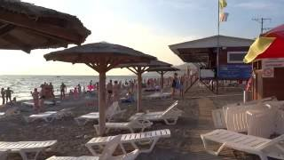 Возвращение в Лето! Пляж санатория