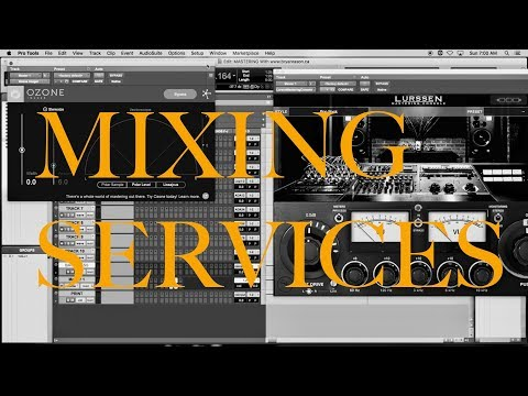 MIXING AND MASTERING SERVICES - Www.BryanRason.ca