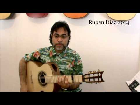 Coaching Buleria 55 ( falsetas by Ruben Diaz ) Modern Flamenco Guitar  / Ruben Diaz Lessons CFG
