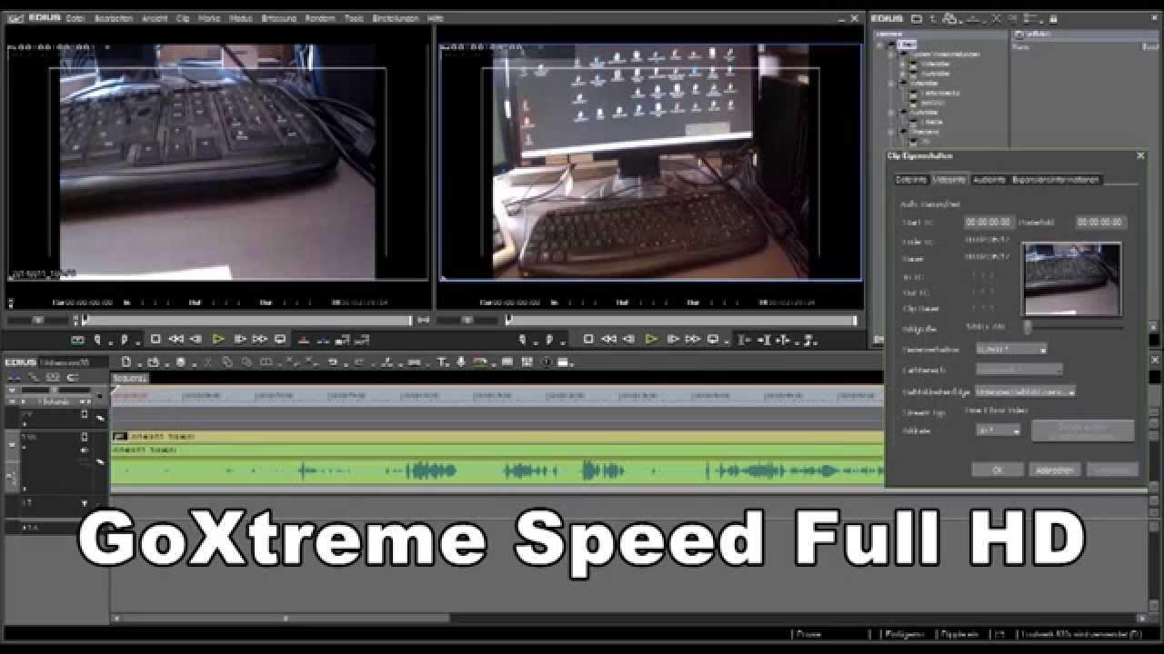KAMERA DREHEN GoXtreme Speed - YouTube