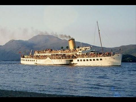 Paddle Steamer Maid of the Loch prepares for new lease of life.