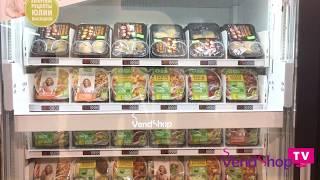 видео Продажа еды через торговый автомат