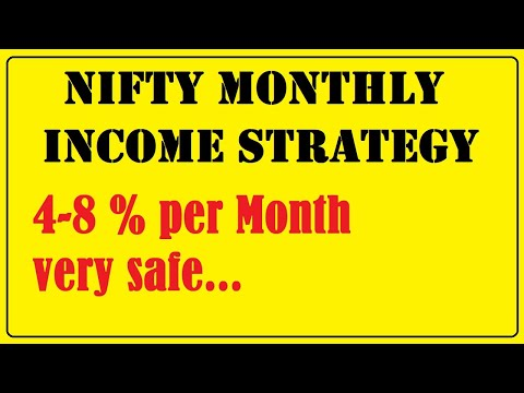 option strategy for monthly income | Nifty options trading strategy