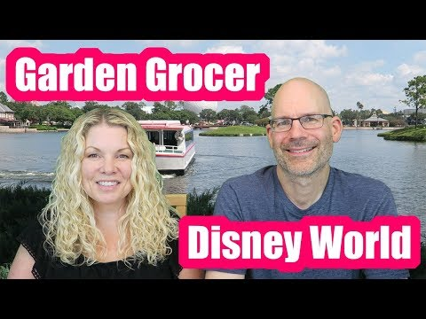 GARDEN GROCER REVIEW! WALT DISNEY WORLD! - YouTube