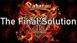 Sabaton | The Final Solution | Lyrics