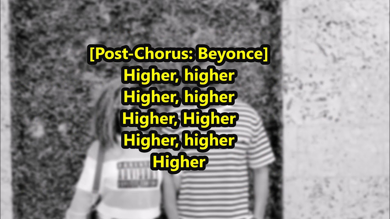 The Carters (Beyonce & Jay-Z) Lyrics - Black Effect