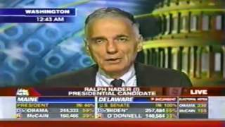 President Obama Uncle Sam or Uncle Tom- Ralph Nader