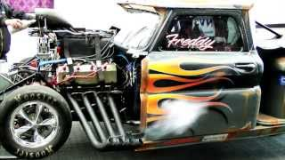Fast Freddy , First run 2012, In&Outside cameras, Pro Mod.