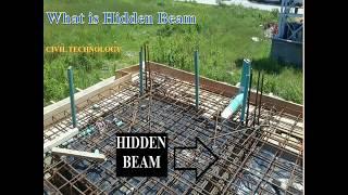 Hidden Beam Concept | Civil Technology