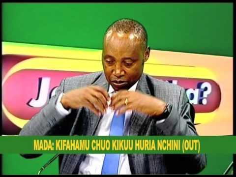 JE TUTAFIKA : Kifahamu Chuo Kikuu Huria Nchini  - 22.11.2015