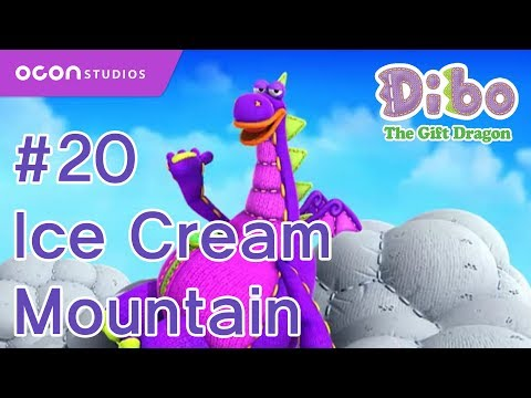 [Dibo the gift dragon] #20 Ice Cream Mountain(ENG DUB)ㅣOCON