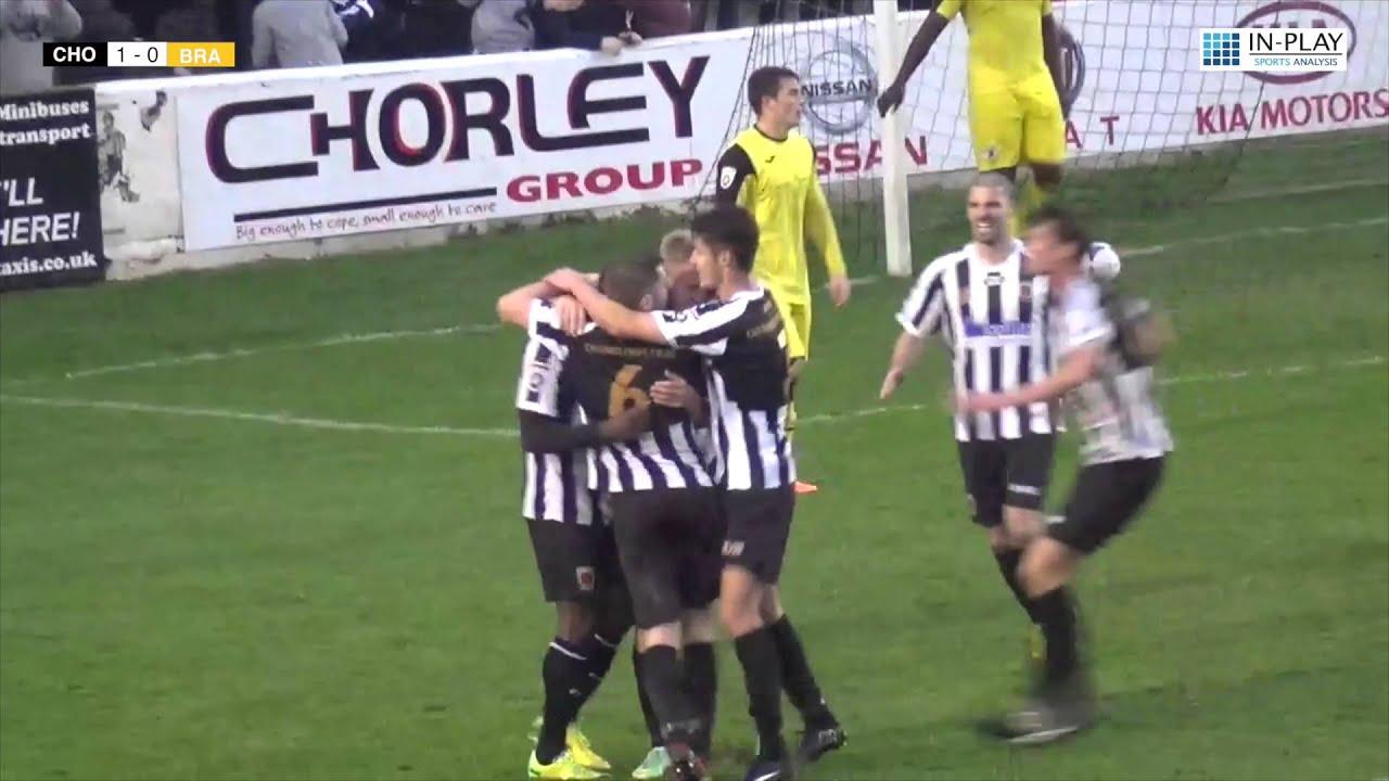 Chorley FC vs Brackley Town FC Match Highlights - YouTube