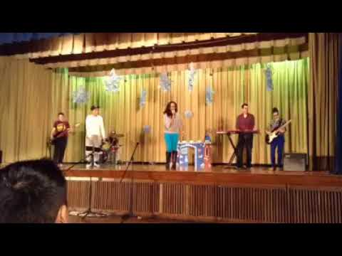 Lyla's  Awesome job while still being sick... Closed out the talent show at her school.