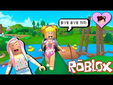 Baby Goldie Summer Camp Bloxburg Morning Routine - Roblox Escape Obby