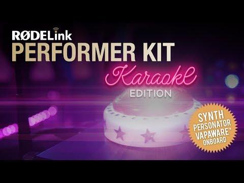 Introducing the RØDELink Performer Kit Karaoke Edition
