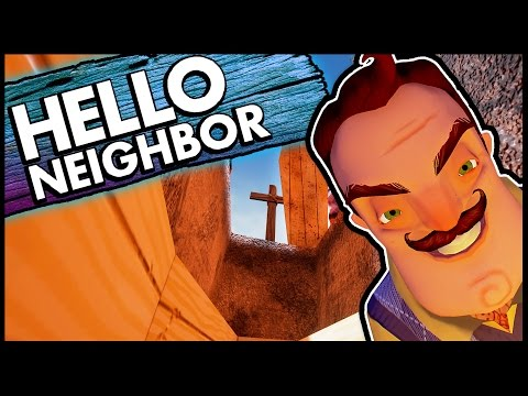 how to get to the basement in hello neighbor