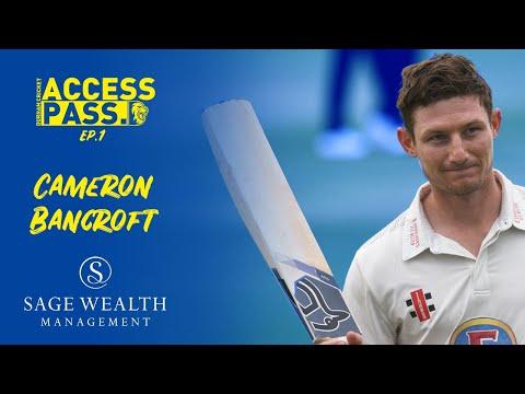 Access Pass: Cameron Bancroft
