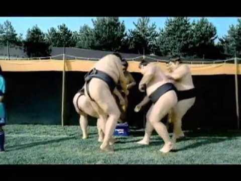 Sumo vs Beckham, Petit, Carlos... _ who's an amateur(Asaddinho)_