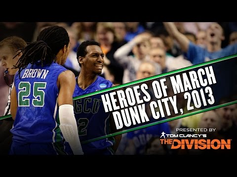 Florida Gulf Coast made history by putting Dunk City on the map