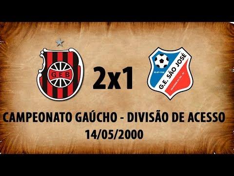 Quebra pau - G.E.Brasil 2x1 São José de Cachoeira - Divisão de Acesso 2000