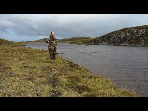 Isle Of Lewis Trout Fishing - On The Beach