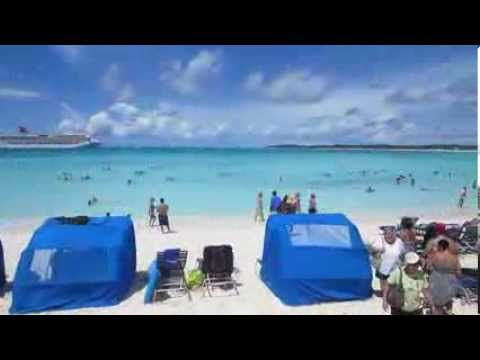 Arriving in the Bahamas at the port of Half Moon Cay