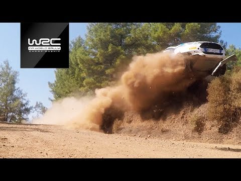 WRC - Rally Turkey 2018: challenging corner...