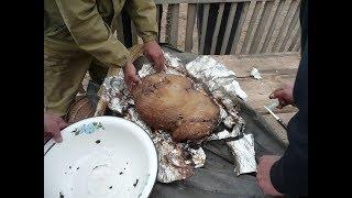 Самое вкусное блюдо из баранины - Кюр  (Калмыкия)