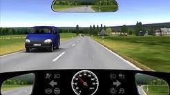 Warum müssen Sie hier Ihre Geschwindigkeit verringern? - 2.1.05-104-M - 123FAHRSCHULE.de