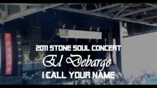 "El DeBarge ""I Call Your Name"" LIVE @ KBLX Stone Soul Concert 2011"