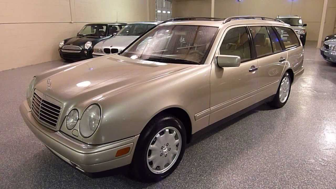 1999 mercedes benz e320 4dr wagon 3 2l awd sold 2249 for 2000 mercedes benz e320 wagon