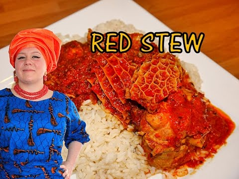 Oyinbo Cooking: Tomato Red Sunday Stew! Nigerian Classic by Oyinbo Nwunye! African Food!