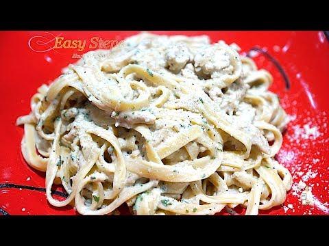 Fettuccine Alfredo Sauce Recipe   Ground Turkey With Pasta Recipe