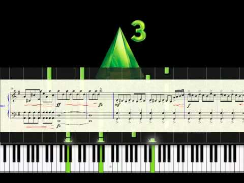 partition piano sims 3