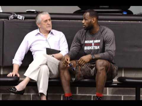 The Pat Riley vs Lebron James Miami Heat issue