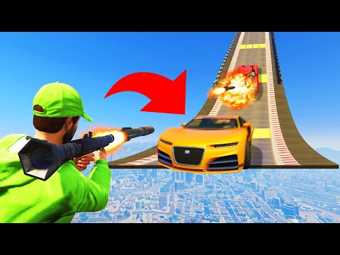 DESTROY The Car Before It HITS YOU! (GTA 5 Funny Moments) thumbnail